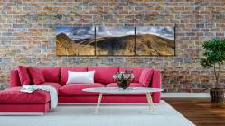 Dow Crag and Old Man Coniston - 3 Panel Canvas on Wall