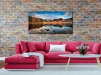 Spring Sunshine on Blea Tarn - acrylic glazing on Wall
