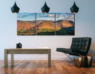 Helm Crag - 3 Panel Canvas on Wall