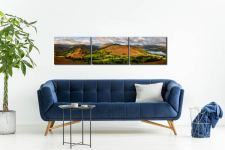 Hallin Fell Panorama - 3 Panel Canvas on Wall