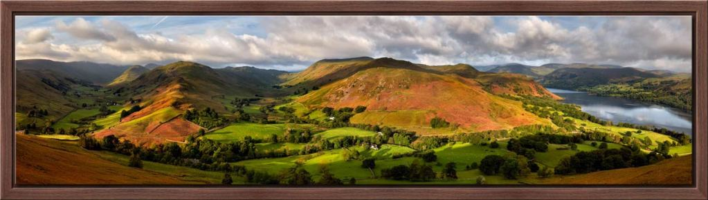 Hallin Fell Panorama - Modern Print