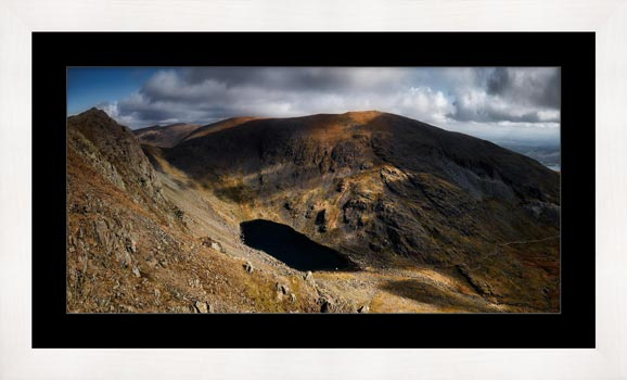 Goats Water and Coniston Old Man - Framed Print