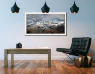 Coniston Old Man Summit - White Maple floater frame with acrylic glazing on Wall