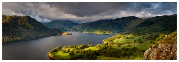 Ullswater Mountains Panorama - Prints of Lake District