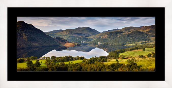 Ullswater Morning Reflections - Framed Print