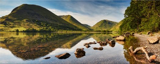 Brothers Water Reflections - Lake District Canvas