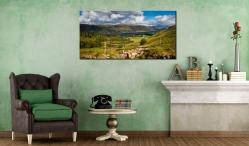 Thirlmere From Path Helvellyn - Canvas Print on Wall