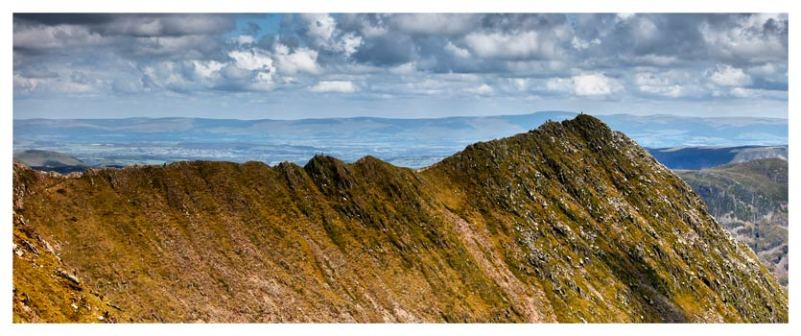 Striding Edge - Lake District Print