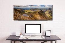 Striding Edge Panorama - Canvas Print on Wall