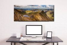 Striding Edge Panorama - Canvas Print on Wall