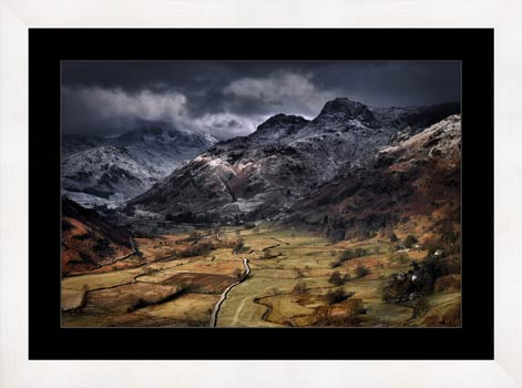 Path To The Pikes - Framed Print