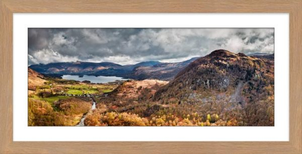 Kings How and Derwent Water - Framed Print with Mount