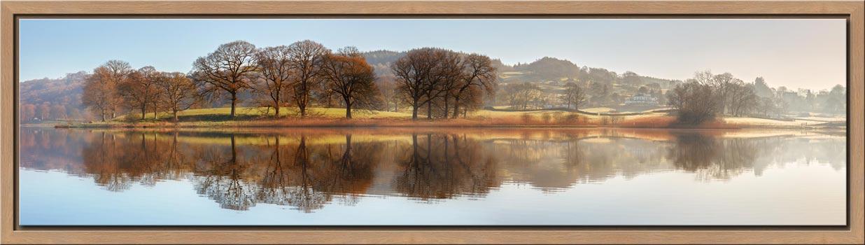 Misty Morning at Esthwaite Water - Modern Print