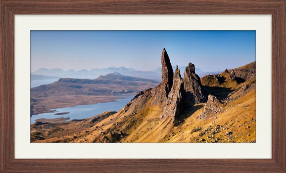 Old Man of Storr Panorama - Framed Print