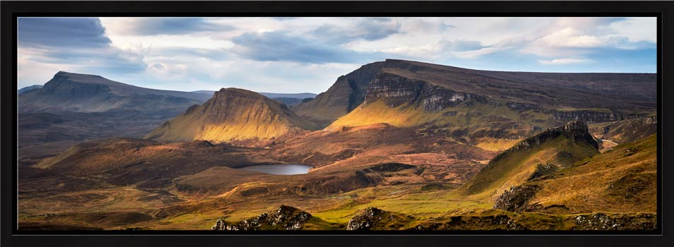 Cleat and Dun Dubh Quiraing - Modern Print