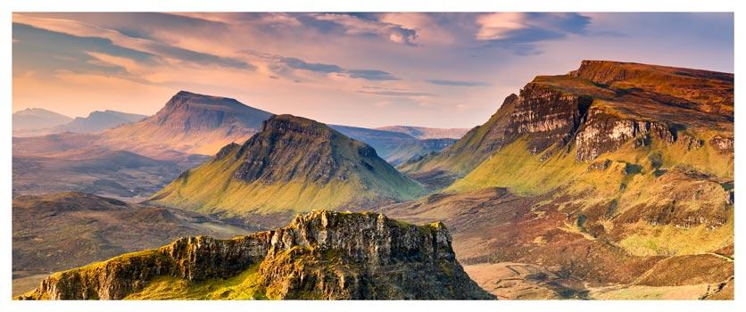 Trotternish Mountains Isle of Skye - Isle of Skye Print