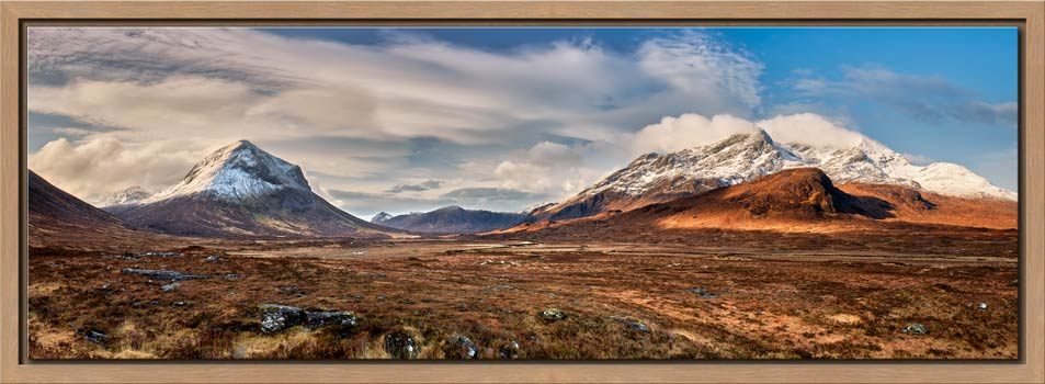 Cuillin Mountains from Glen Sligachan - Modern Print