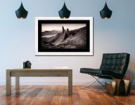 The Storr Isle of Skye - Framed Print with Mount on Wall