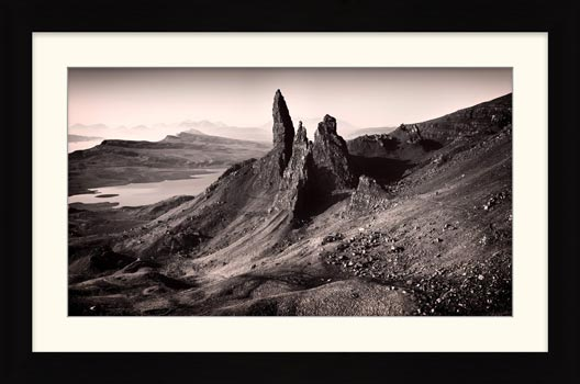 The Storr Isle of Skye - Framed Print