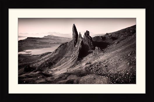 The Storr Isle of Skye - Framed Print