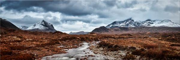 Glen Sligachan Panorama - Canvas Print