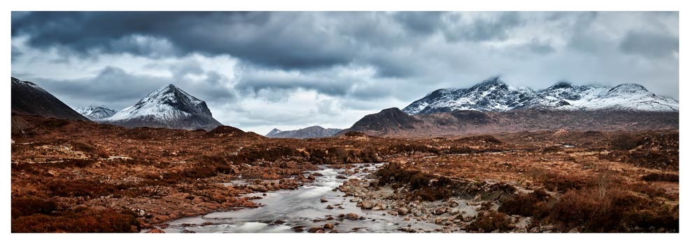 Glen Sligachan Panorama - Prints of Isle of Skye