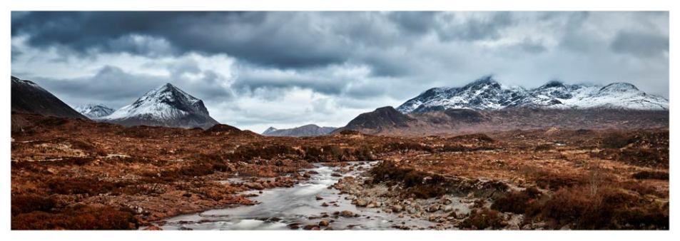 Glen Sligachan Panorama - Isle of Skye Print
