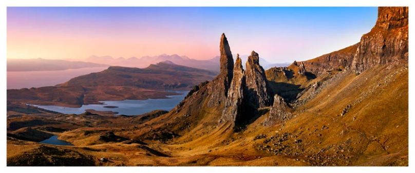 Old Man Storr Golden Light - Isle of Skye Print