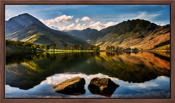 Beautiful Buttermere - Lake District Modern Print