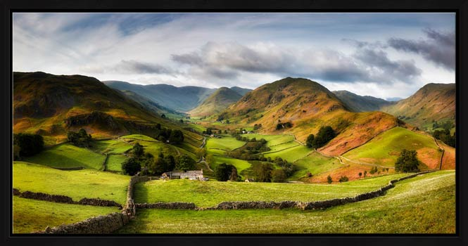 Green Fields of Martindale - Modern Print