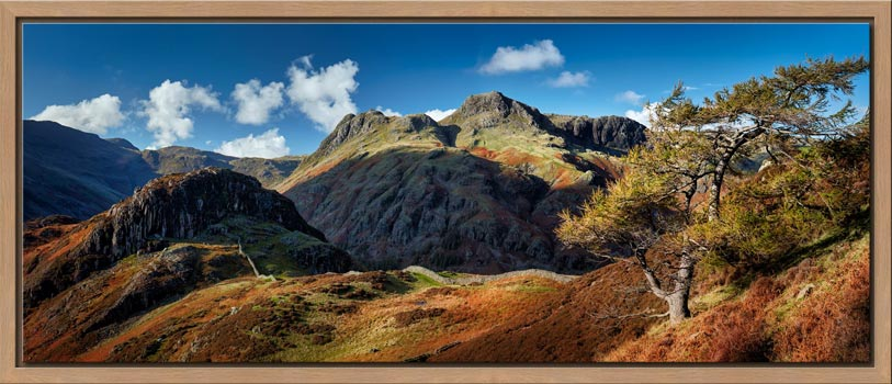 Langdales and Side Pike - Modern Print