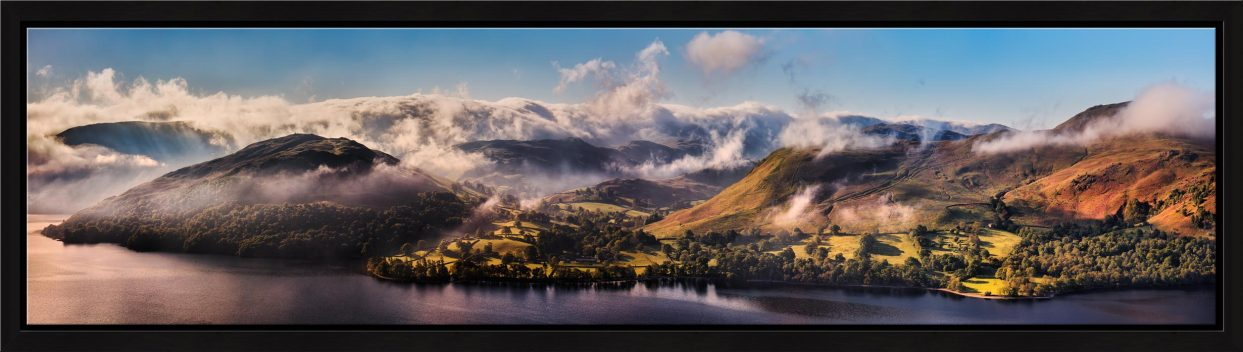 Ullswater Clouds and Mists - Modern Print