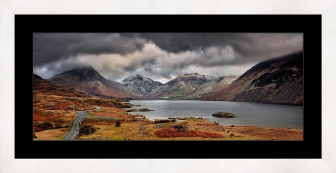 Wast Water Mountains - Framed Print with Mount