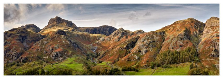 Harrison Stickle to Blea Rigg - Lake District Print