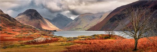 Autumn Ends at Wast Water - Canvas Print
