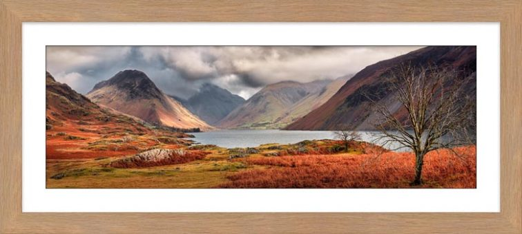 Autumn Ends at Wast Water - Framed Print