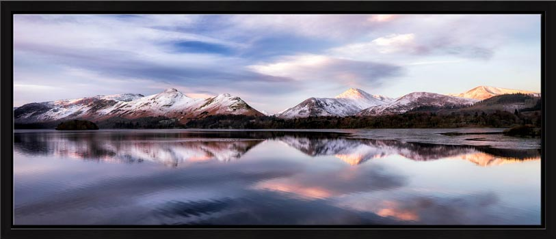 Colours of Dawn at Derwent Water - Modern Print