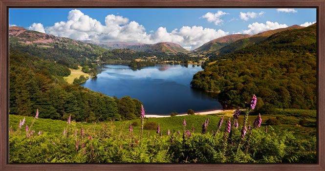 Summer at Grasmere - Modern Print