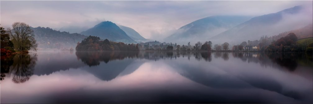 Misty Grasmere - Canvas Print