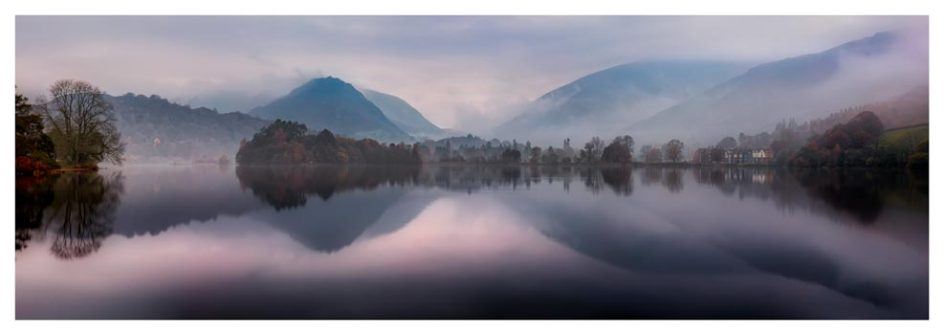Misty Grasmere - Lake District Print