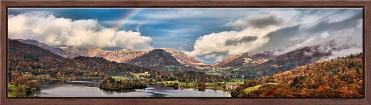 Grasmere Rainbow - Modern Print