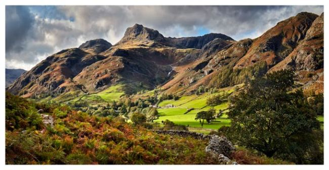 Cumbrian Way Langdale - Lake District Print