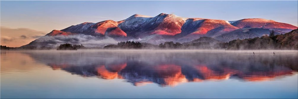Skiddaw Reflection - Canvas Print
