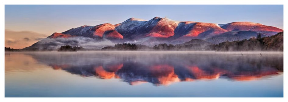 Skiddaw Reflection - Lake District Print