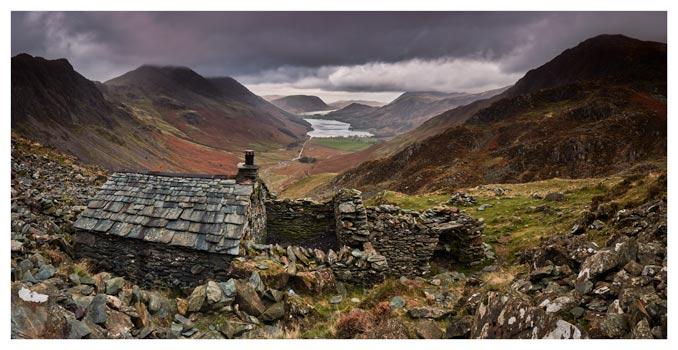 Warnscale Bothy - Lake District Print
