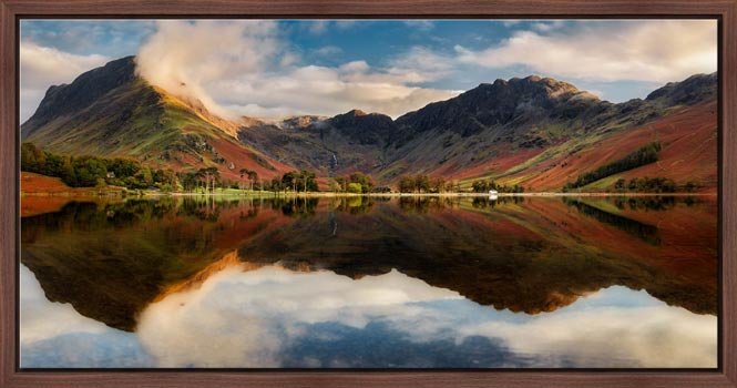 Buttermere Evening Light - Modern Print