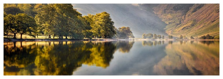 Hazy Days at Buttermere - Lake District Print