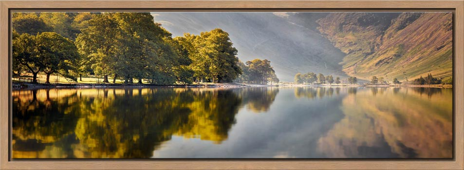 Hazy Days at Buttermere - Modern Print