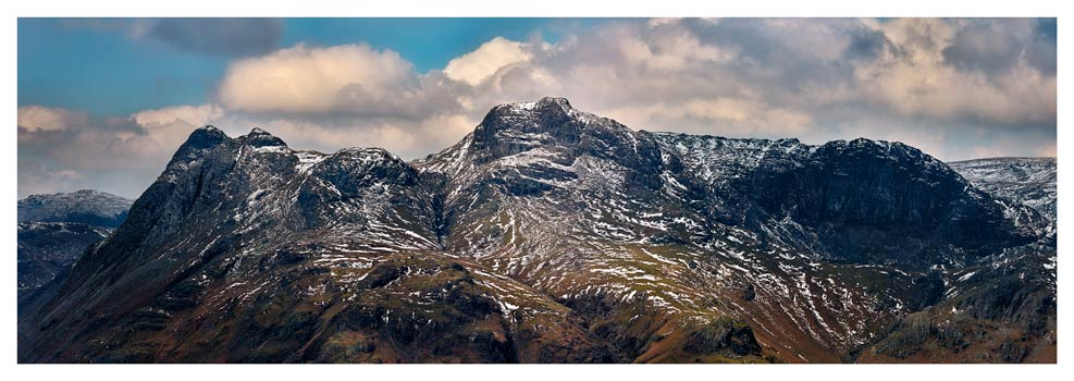 The Langdales and Pavey Ark - Lake District Print