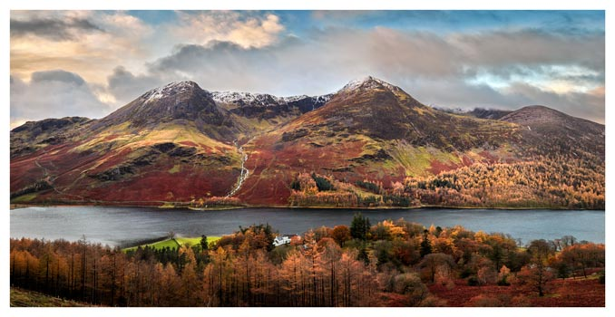 High Stile High Crag in Autumn - Lake District Print